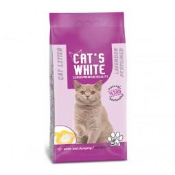 Cats white lavantalı kedi kumu 5 kg