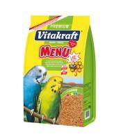 Vitakraft MENU + JOD VITAL COMPLEX – Premium Muhabbet Kuşu Yemi 1000 Gr.