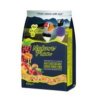 Nature Plan Meyve Aromalı ve Ballı Egzotik Finch Yemi 500 Gr.