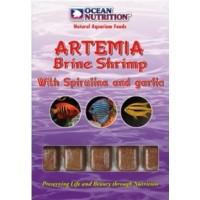 Ocean Nutrition Dondurulmuş Yem Artemia with Spirulina and Garlic 100gr(35tablet)