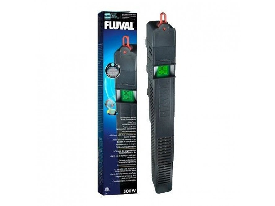Fluval E 300 Dijital Tam Otomatik Akvaryum Isıtıcısı 300 W